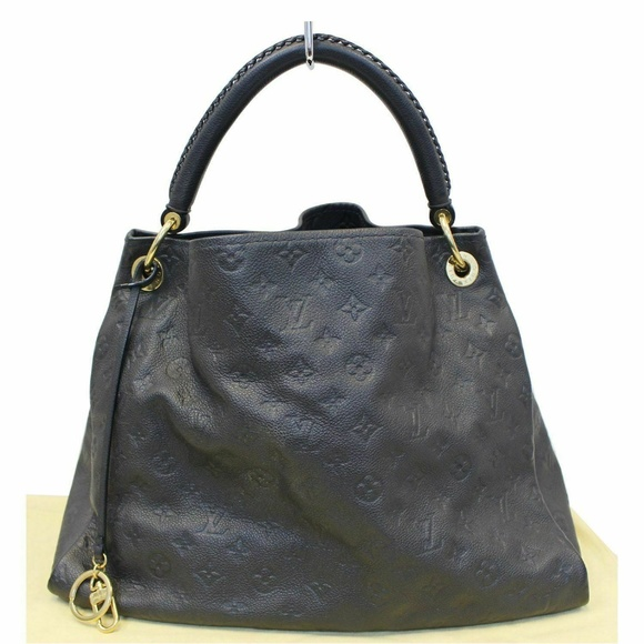 Louis Vuitton Handbags - Louis Vuitton Artsy MM Empreinte Blue Shoulder Bag